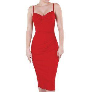 Stop Staring! Million Dollar Baby Red Pinup Dress